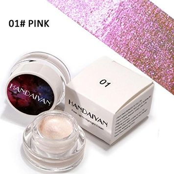 Eyeshadow KingWo Glitter Highlight Eye Shadow Powder Palette High Light Eyeshadow Cosmetic Makeup Set Matt Available