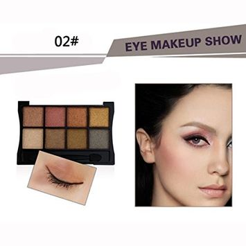 KingWo New Arrival 8 Colors Fashion Cosmetic Powder Smoky Eyeshadow Palette Makeup Set Matte Available Makeup Eye Shadow Pretty