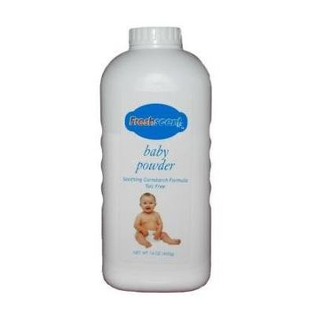 14 oz Talc Free Baby Powder Cornstarch Formula Case Pack 24