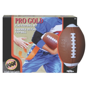 Poof Slinky Pro Gold Flag Football Set
