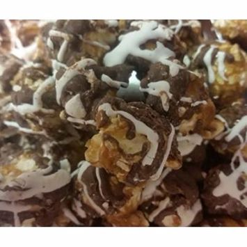 Gourmet Popcorn by Its Delish (Zigzag Chocolate Drizzle, 4 Oz.)