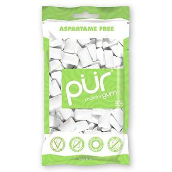 PUR Gum Coolmint, 2.8 oz, 2 Count