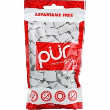 Pur Chewing Gum, Cinnamon, 2.82 Oz (Pack Of 12)