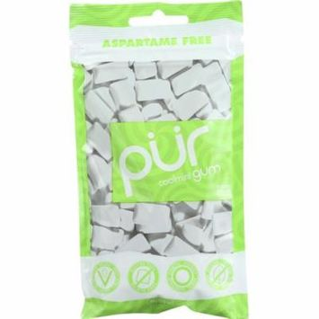 Pur Chewing Gum, Sugar-Free, Coolmint, 2.82 Oz (Pack Of 12)