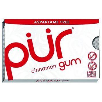 Pur Gum Cinnamon Gum 12 Pack (9 Pieces Ea)
