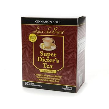 Laci Le Beau Super Dieter's Tea Dietary Supplement Tea Bags Cinnamon Spice