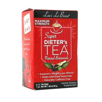 Laci Le Beau Super Dieter's Tea Bags Maximum Strength All Natural Botanicals