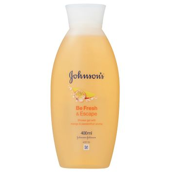 Johnson's® Shower Gel with Mango and Passionfruit Aroma