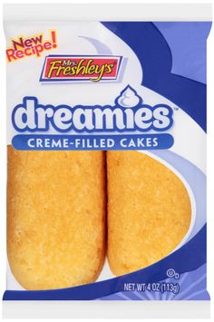 mrs Freshley's® Dreamies™ Creme-Filled Cakes
