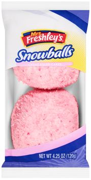mrs Freshley's® Creme Filled Cakes Snowballs