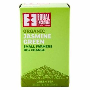 Equal Exchange - Equal Exchange Organic Jasmine Green Tea 20 tea bags 4 PACK SD