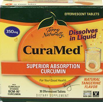 Europharma Terry Naturally Curamed Efferevescent EuroPharma (Terry Naturally) 30 Tabs