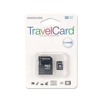 MEMOREX MICRO SDHC TRAVELCARD 32GB CLASS 10
