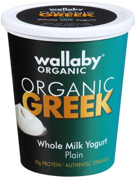 Wallaby® Organic Greek Whole Milk Plain Yogurt