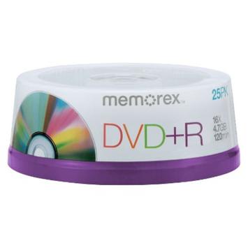 Memorex DVD+R Spindle Disc Pack - 25-pk