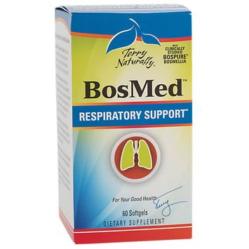 Europharma Terry Naturally BosMed Respiratory Support* EuroPharma (Terry Naturally) 60 Softgel