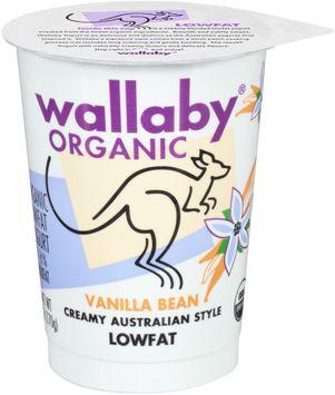 Wallaby® Organic Vanilla Bean Lowfat Yogurt
