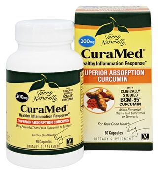 Europharma Terry Naturally Curamed 200 mg EuroPharma (Terry Naturally) 60 Caps