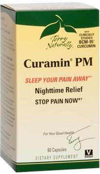 Europharma Terry Naturally EuroPharma - Terry Naturally Curamin PM - 60 Capsules