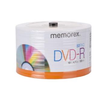 Memorex 4.7Gb/16x DVD-R 50-pk. Spindle