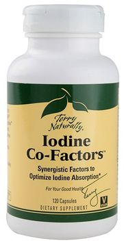 Europharma Terry Naturally Terry Naturally Iodine Co-Factors 120 Capsules - Vegan