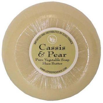 150 gram Round Bar Epi de Provence Cassis Pear Shea Butter Soap
