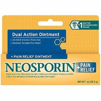 Neosporin + Pain Relief Ointment 0.50 oz (Pack of 8)