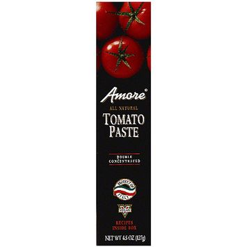 Amore Italian Tomato Paste, 4.5 oz (Pack of 12)