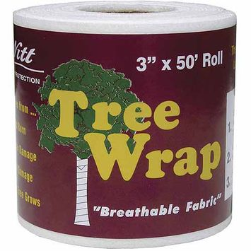 Dewitt TW3W 3' x 50' Tree Wrap, White