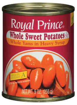 Royal Prince Whole Yams In Heavy Syrup Sweet Potatoes