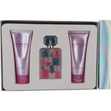 Radiance Britney Spears 214493 Set-Eau De Parfum Spray 1.7-Oz and Body Souffle 3.3-Oz and Shower Gel
