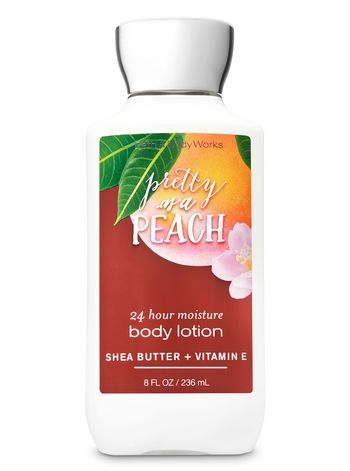 Bath & Body Works Signature Collection PRETTY AS A PEACH Super Smooth Body Lotion