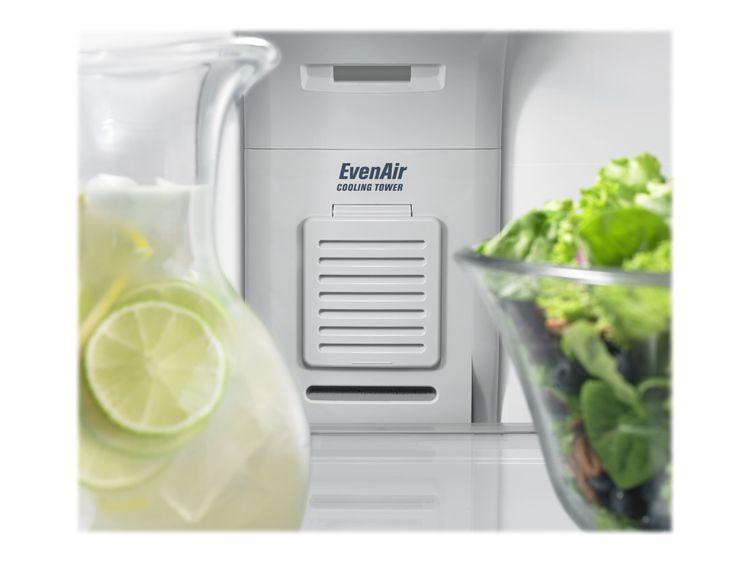 Maytag MRT711BZDH - Refrigerator/freezer - freestanding - width: 32.8 in - depth: 34.4 in - height: 66.1 in - 21.2 cu. ft - top-freezer - white