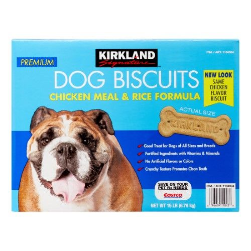 KIRKLAND Signature™ Premium Dog Biscuits Chicken Meal & Rice Formula