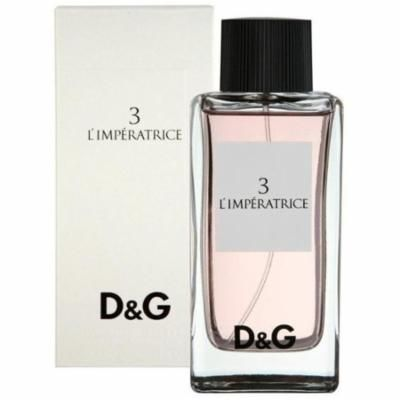 3 Pack - Dolce & Gabbana L'Imperatrice Eau De Toilette Spray 3.4 oz