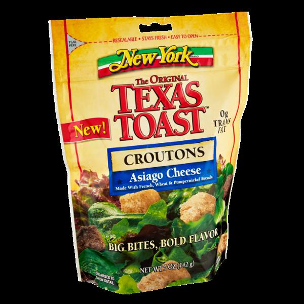 New York The Originial Texas Toast Asiago Cheese Croutons