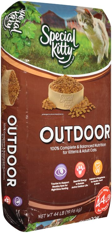 special kitty™ outdoor dry cat food