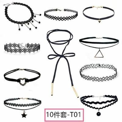 Generic handmade popular spring _and_ summer clavicle chain necklace pendant women girl fashion personality simple necklace pendant _non-mainstream_Japanese_sexy_ black girl
