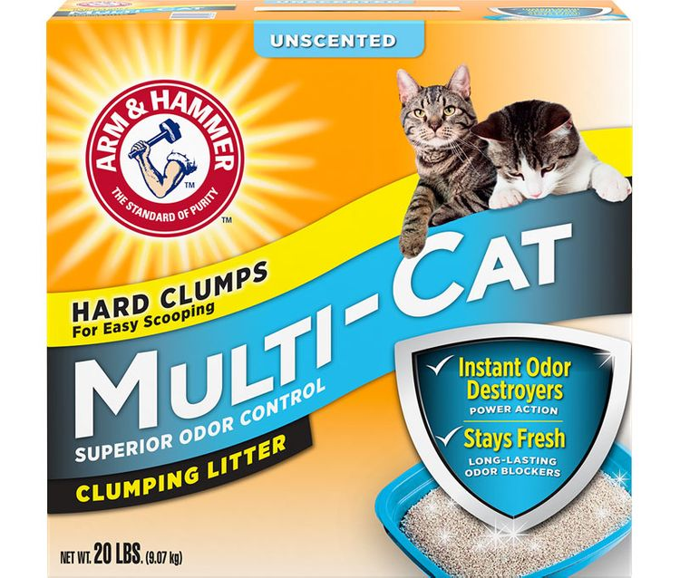 ARM & HAMMER™ Multi-Cat Strength Clumping Litter Unscented