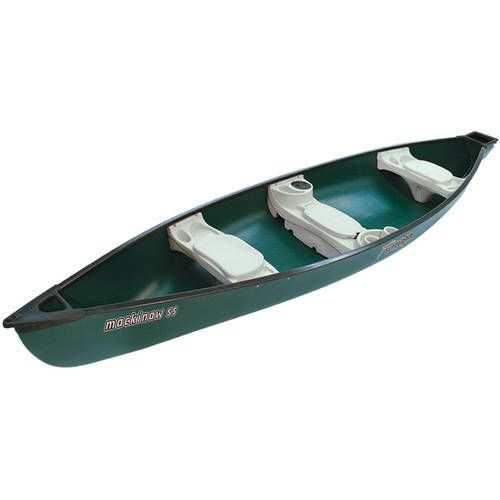 Sun Dolphin Mackinaw Hazelnut 15.6' Square Stern Canoe