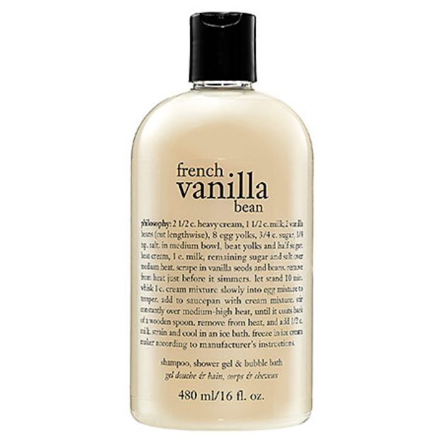 philosophy french vanilla bean ice cream 3-in-1 shampoo
