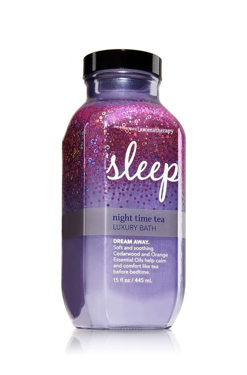 Bath & Body Works® Aromatherapy Sleep NIGHT TIME TEA Luxury Bath
