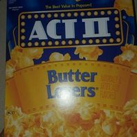 Act II® Butter Lovers® Microwave Popcorn uploaded by Natashia M.