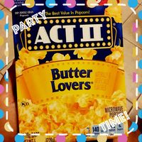 Act II® Butter Lovers® Microwave Popcorn uploaded by Viannely G.