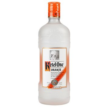 Ketel One Flavored Vodka, Oranje, 1.75 L (80 Proof)