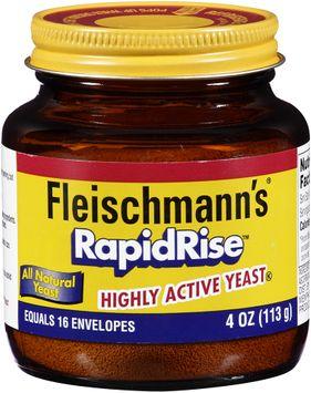Fleischmann's® RapidRise™ Highly Active Yeast