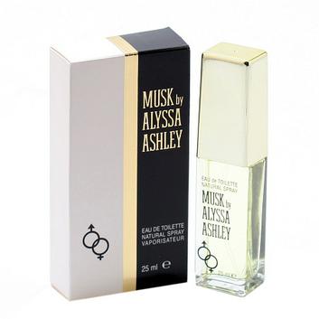 Alyssa Ashley Musk Eau De Toilette Spray .85 Oz