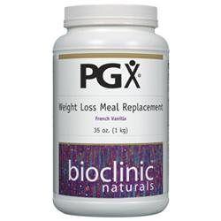 PGX Weight Loss Meal Rep. Fr Vanilla 1 kg by Bioclinic Naturals