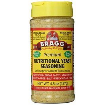 Bragg Nutritional Yeast Seasoning, Premium, 4.5 Ounce by Bragg
