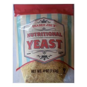 Trader Joe's Nutritional Yeast - Vegan, Gluten-free, 4 Ounce